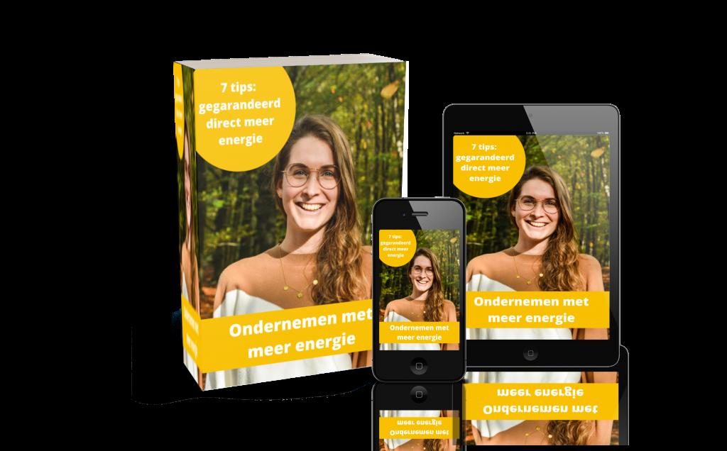 E-book - ondernemen met meer energie