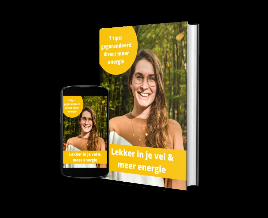 E-book lekker in je vel en meer energie